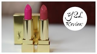 YSL Rouge Pur Couture Review + Dupes | Bailey B.