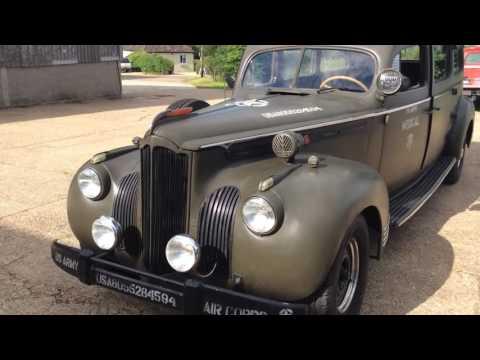Walk round 1941 Packard Henney ambulance.