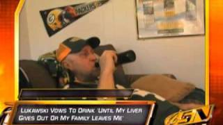 Packers Fan Announces He Will Return To Drinking For Another Season