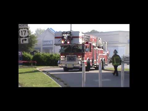 Portsmouth Va, Fire Department Structure fire