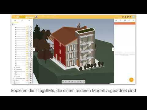 Tutorial von usBIM.platform ONE - #TagBIM auf dem Modell - ACCA software thumbnail