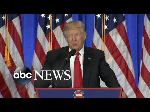 Trump Addresses Russian Hacking, His Business Future, Obamacare Plans in First Press Conference