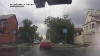 Собака переходит дорогу. г. Ростов-на-Дону