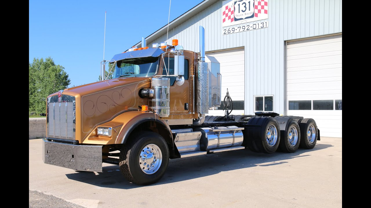 hight resolution of 2008 kenworth t800 tri axle 131 truck sales