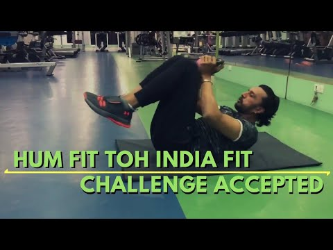 Kichcha Sudeep accepts #HumFitTohIndiaFit Challenge | Challenges Yash and Shivanna |