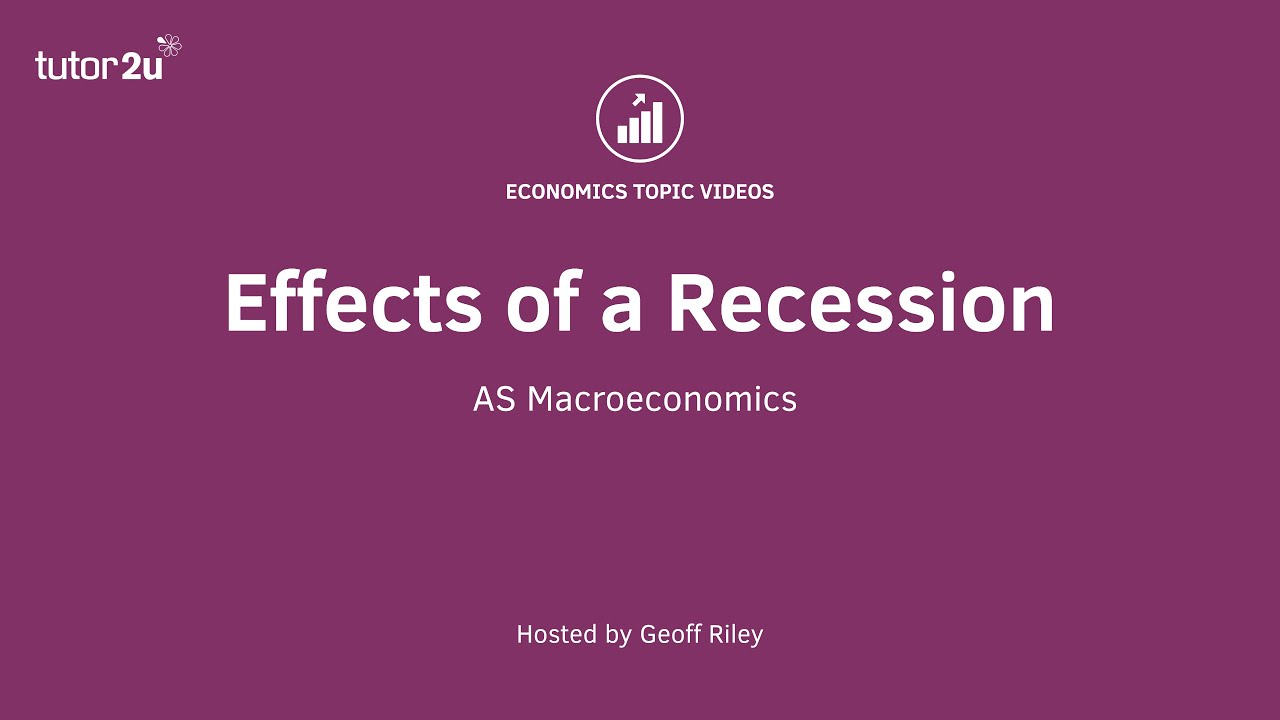 evaluating the effects of recession evaluating the effects of recession
