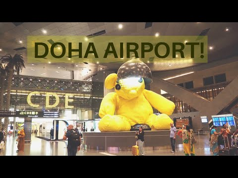 Flying From Maputo To Doha