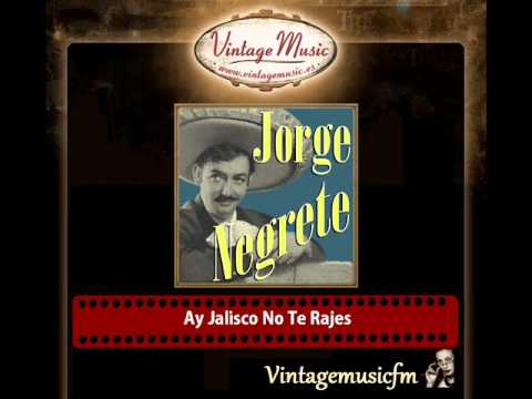 JORGE NEGRETE Mexico Collection CD 9 Ranchera Corrido Mariachi.  Ay Jalisco No Te Rajes