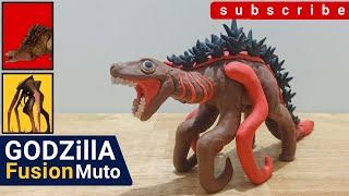 Shin Godzilla Fusion Muto ชินก็อตซิลล่า ฟิวชั่น มุโต้  : StopMotion