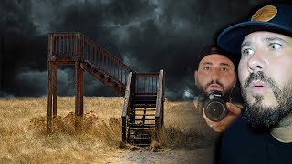 App Leads Us To Mystery Stairway In Woods