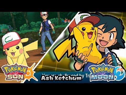 Pokemon Sun & Moon | Vs Ash Ketchum (20th Movie)