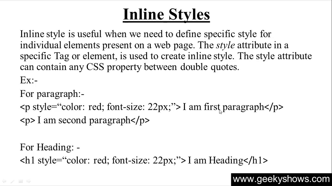 Html and css tutorial: the basics.