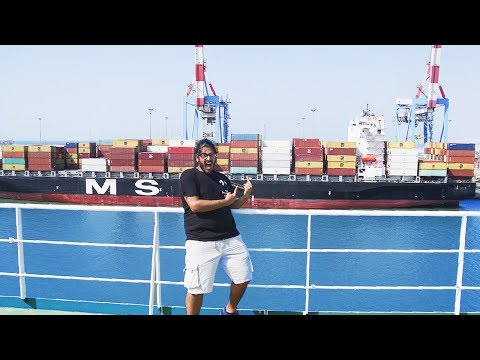 CARGO SHIP TRAVEL JOURNEY BEGINS! - How to travel via Cargo/Container Ship