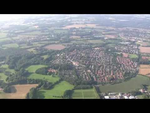Flying over Münster - Germany - Rundflug über Münster