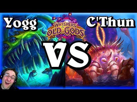 Yogg Saron VS C'Thun ~ Whispers of the Old Gods ~ Hearthstone Heroes of Warcraft
