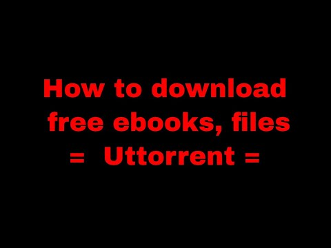 How to download free ebooks, tutorials, videos,files by ...