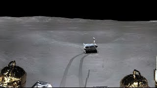 Chang'e-4 takes panoramic photos on the Moon's far side