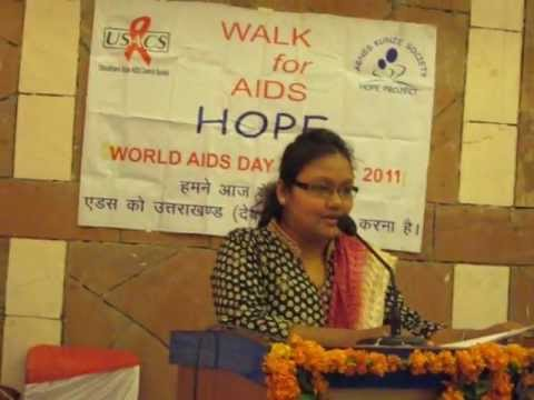 speech on aids awareness