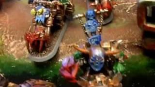 Game Knights HeroClix  Helldorado Warhammer 40K Orks.mp4