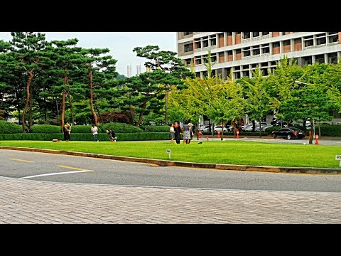 Ajou University Campus footage with E-M5 MARK ll
