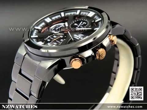 Casio Edifice Chronograph All Black Sport Watch EFR-544BK-1A9V ... dd75a86f5