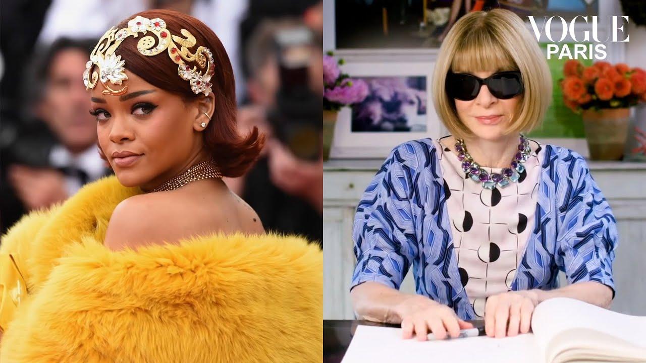 Anna Wintour décrypte plus de 40 ans de looks iconiques au Met Gala | Life In Looks | Vogue Paris