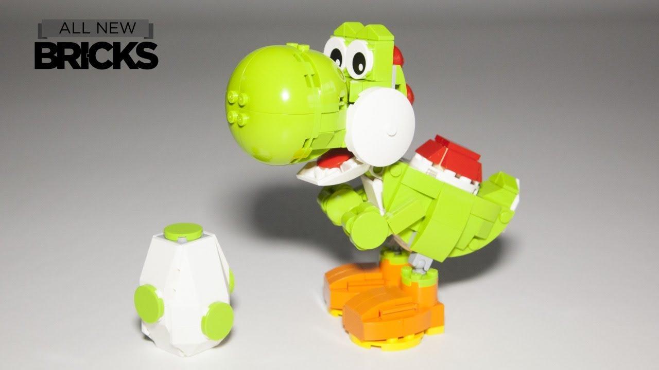 Lego Nintendo Yoshi Speed Build By Build Better Bricks Youtube