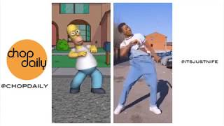 Gambar cover Homer Dancing | Zanku Love Challenge (Dance Compilation Part 1) | Chop Daily