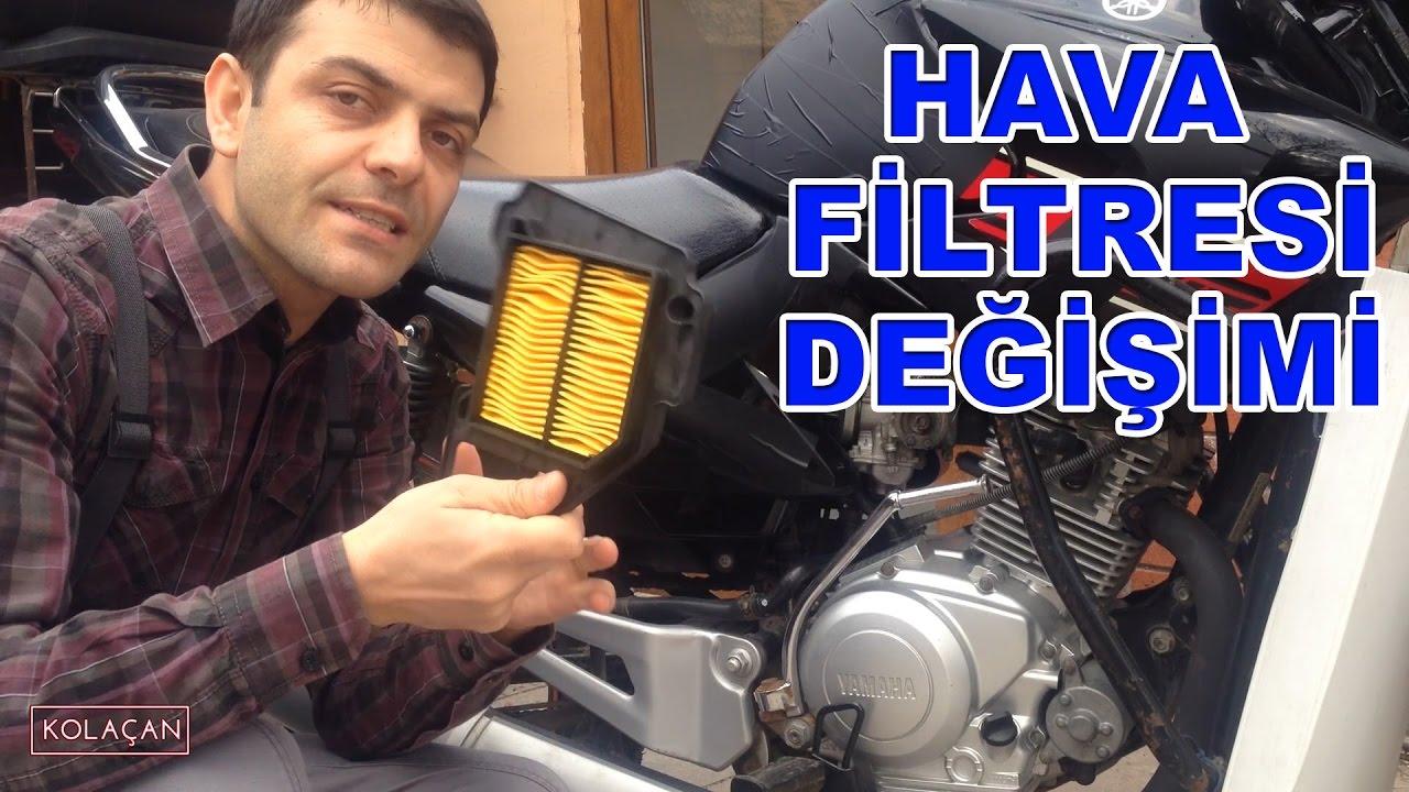 Hava Filtresi Değişimi   Yamaha ybr 125 esd   Kendin yap