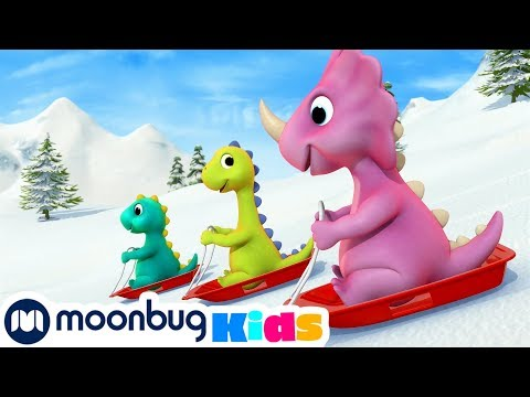 10 Маленьких динозавров   Детские мультики   Детские песни   Сборник мультиков   Литл Бэйби Бам