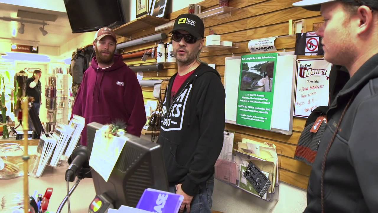 Local fly shops hank patterson 39 s montana adventure ep for Hank patterson fly fishing