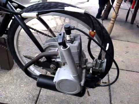 Motovelo Moto Morini Diy Folding Bike With 2 Stroke Bicycle Engine