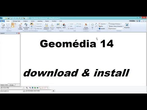 Geomédia 14 Download And Install With Crack