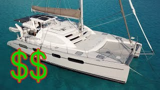 Converting a Charter Catamaran to Full-time Cruiser PART 2 - The final tally!