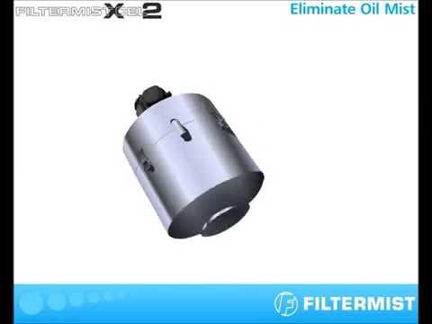 Thiết bị hút hơi dầu công nghiệp Filtermist