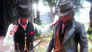 RDR2 Dutch Hates John Marston Red Dead Redemption 2 Camp Event