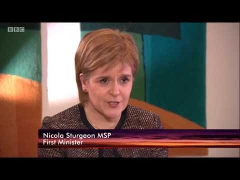 BBC interview with Nicola Sturgeon in Ireland - The Irish Gov has given the SNP nothing specific.