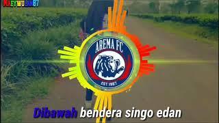 Gambar cover Lirik Lagu AREMA Dibawah Bendera Singo Edan versi Spectrum