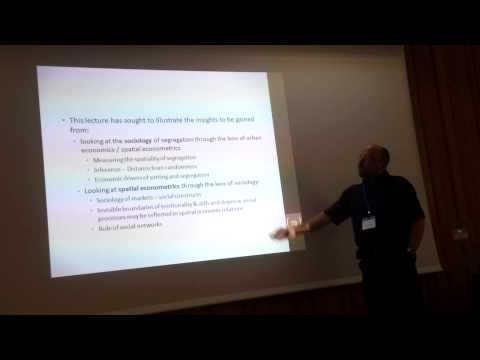 Gwilym Pryce - Residential Segregation and the Statistics of Space