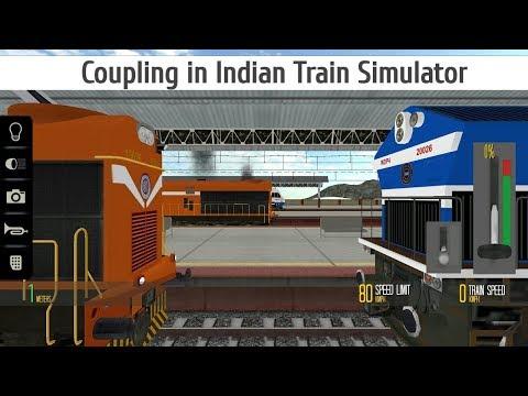 Coupling in Indian Train Simulator Android ( WDM 3D & WDG 4 locos ) VFX