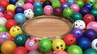 Mixing Random Things into Clear Slime | Relaxing Slime With Funny Balloons ! Tom Slime