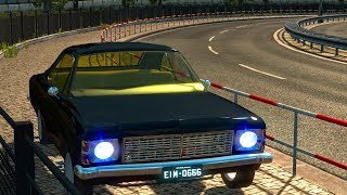 English:You can use Chevrolet Opala in ETS2 now. You can buy it DAF dealers. Working in 1.31.x ——————————————————– v1.0 ——————————————————– English › 1 Cabin. › 1 Chasis. › 3 Engine Option. › 2 Gearbox. › 2 Rim & Whell. › All Colors working. › Lightmask w