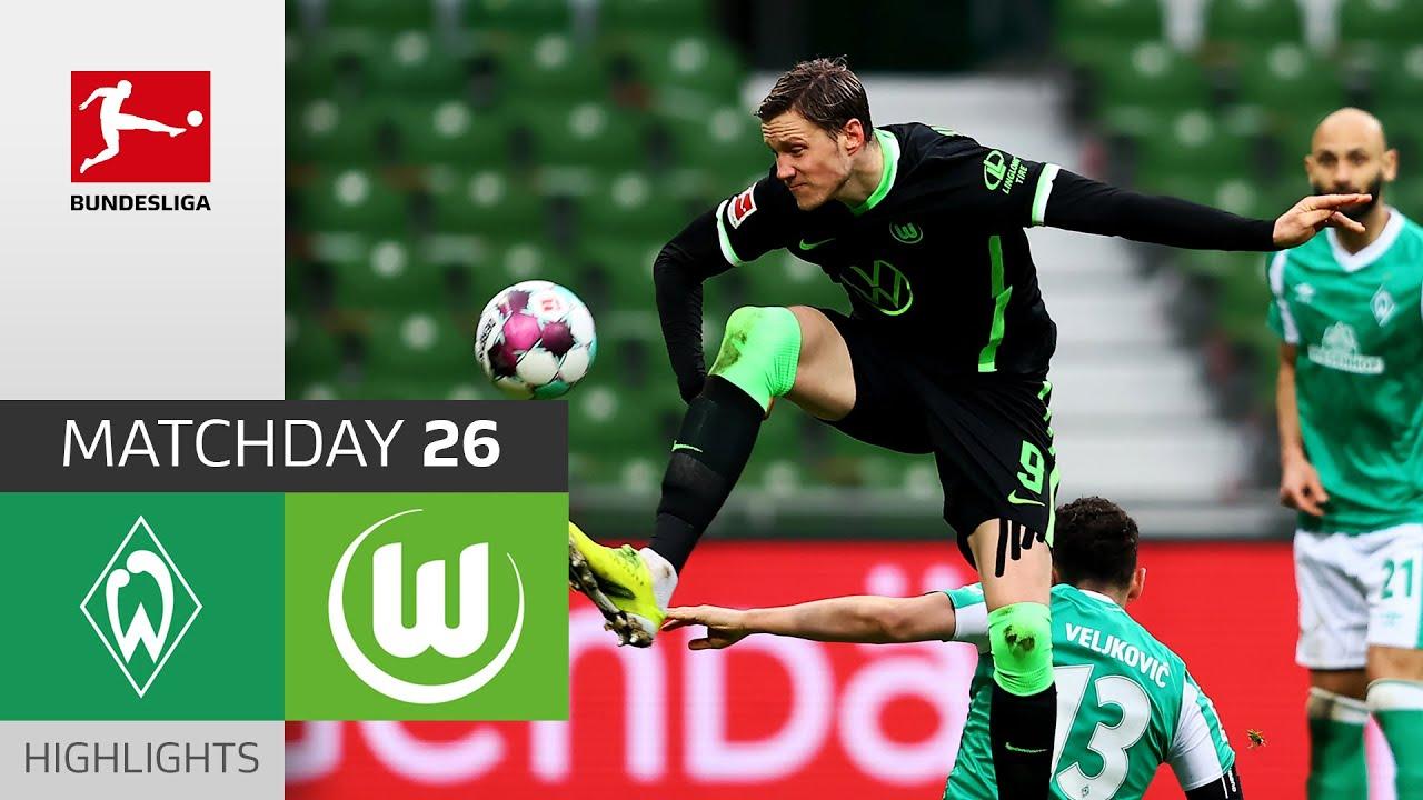 Download SV Werder Bremen - VfL Wolfsburg | 1-2 | Highlights | Matchday 26 – Bundesliga 2020/21