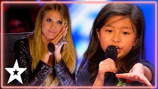 Celine Tam BLOWS Judges Minds With TITANIC Song! | Kids Got Talent