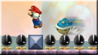 New Super Mario Bros. Wii MASTER MODE | Try 3 levels NOW!*