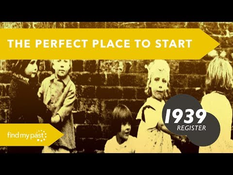 1939 Register: The Perfect Place to Start Your Family History | Findmypast