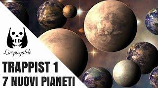 La NASA scopre 7 nuovi pianeti simili alla terra