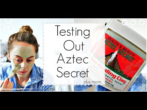 Amazon Aztec Clay Review + What I Eat In A day + Mineral Makeup Haul