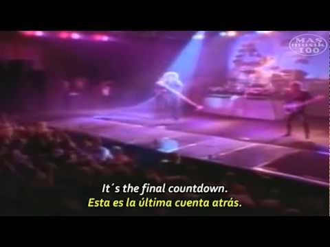 Europe- The Final Countdown (Subtitulado Esp.+ Lyrics) Oficial