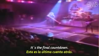 Europe- The Final Countdown (Subtitulado Esp.+ Lyrics) Oficial